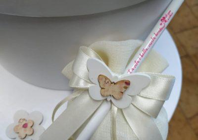 Bomboniere solidali matita farfalla