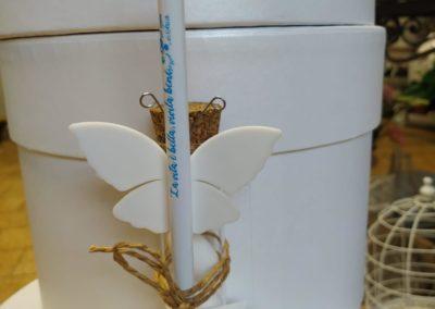 Bomboniere solidali matita farfalla portaconfetti