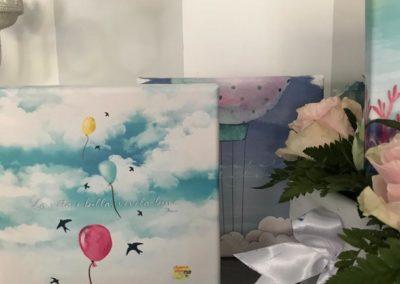 Bomboniere solidali mongolfiere palloncini