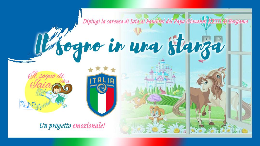 """La FIGC sostiene il progetto """"Il sogno in una stanza"""""""